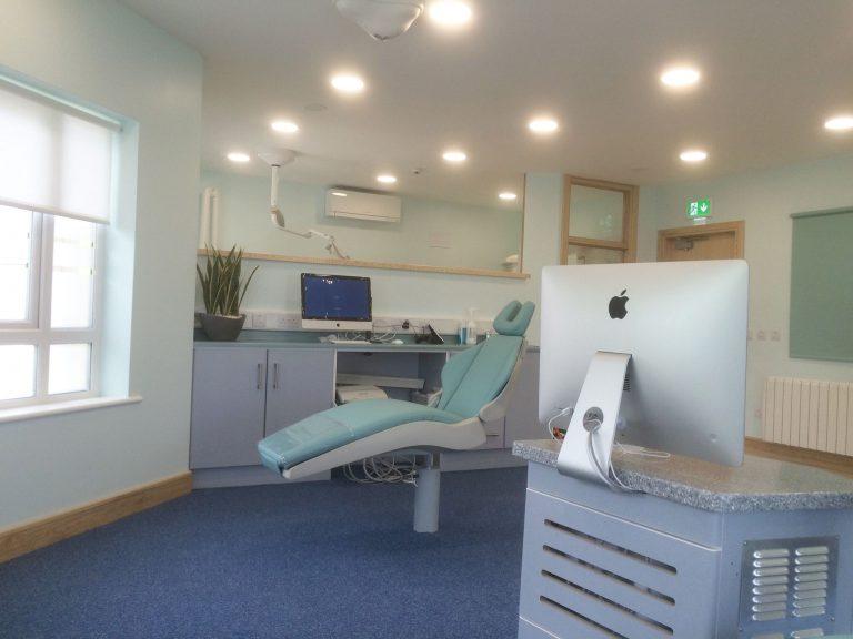 Commercial work-dental practice